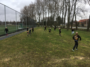 tikkertje als warming-up